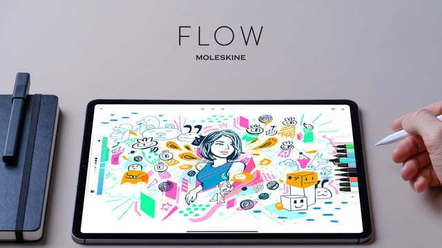 Flow by Moleskine Brings the Notebook Experience to Your iPad or iPhone