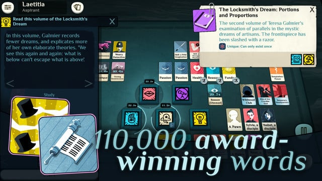 Seek Unholy Mysteries in the Card Game Cultist Simulator