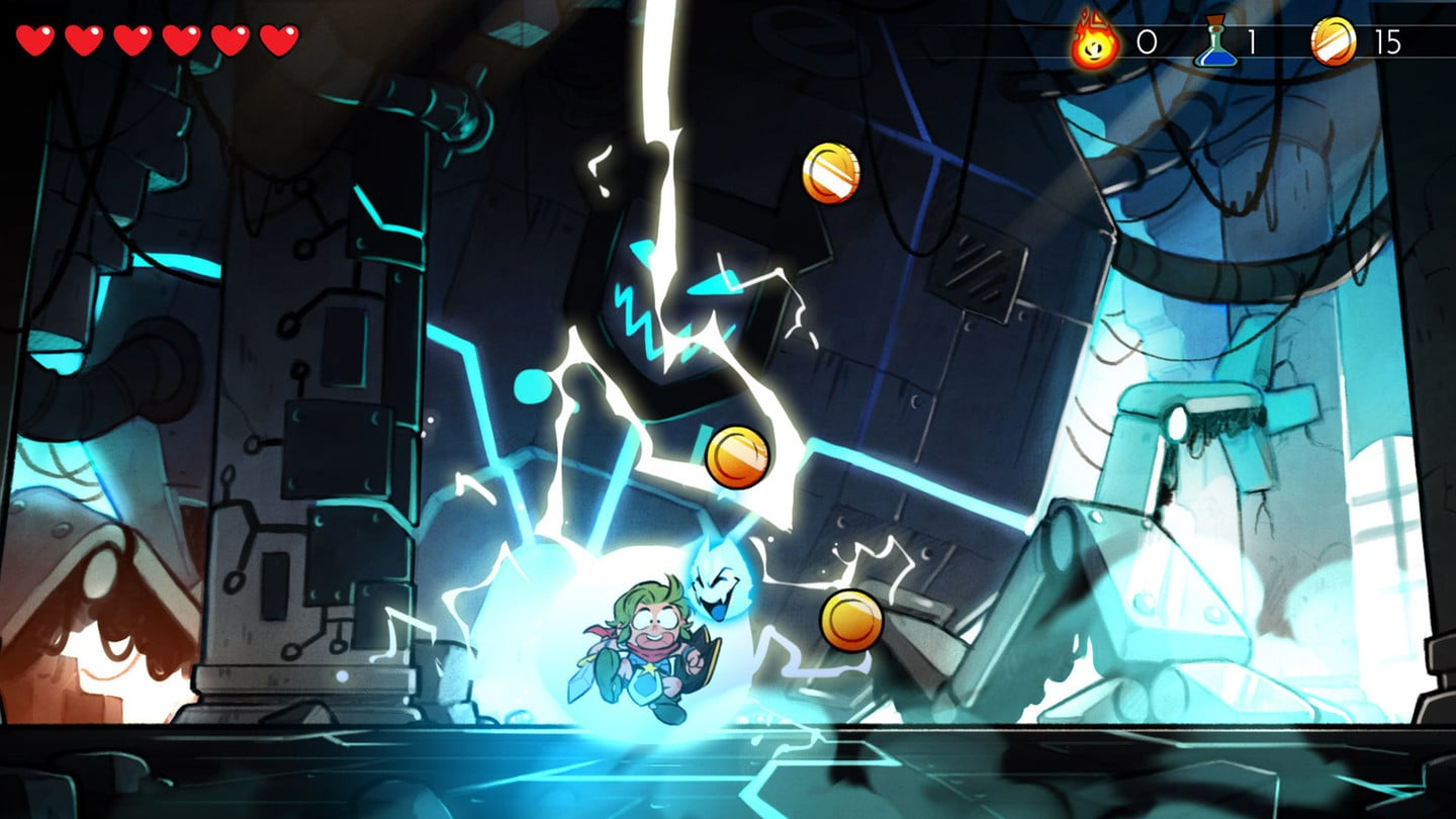 The Fun Adventure Wonder Boy: The Dragon's Trap Lands on the App Store