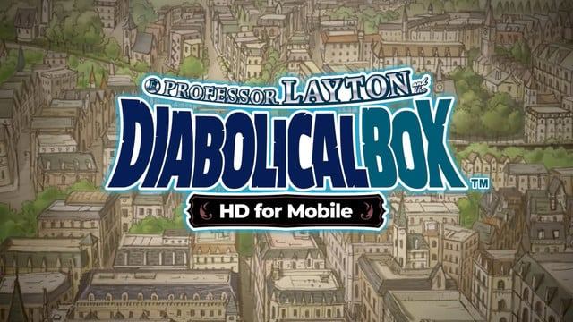 Professor Layton and the Diabolical Box Arrives With More Puzzle Solving Fun