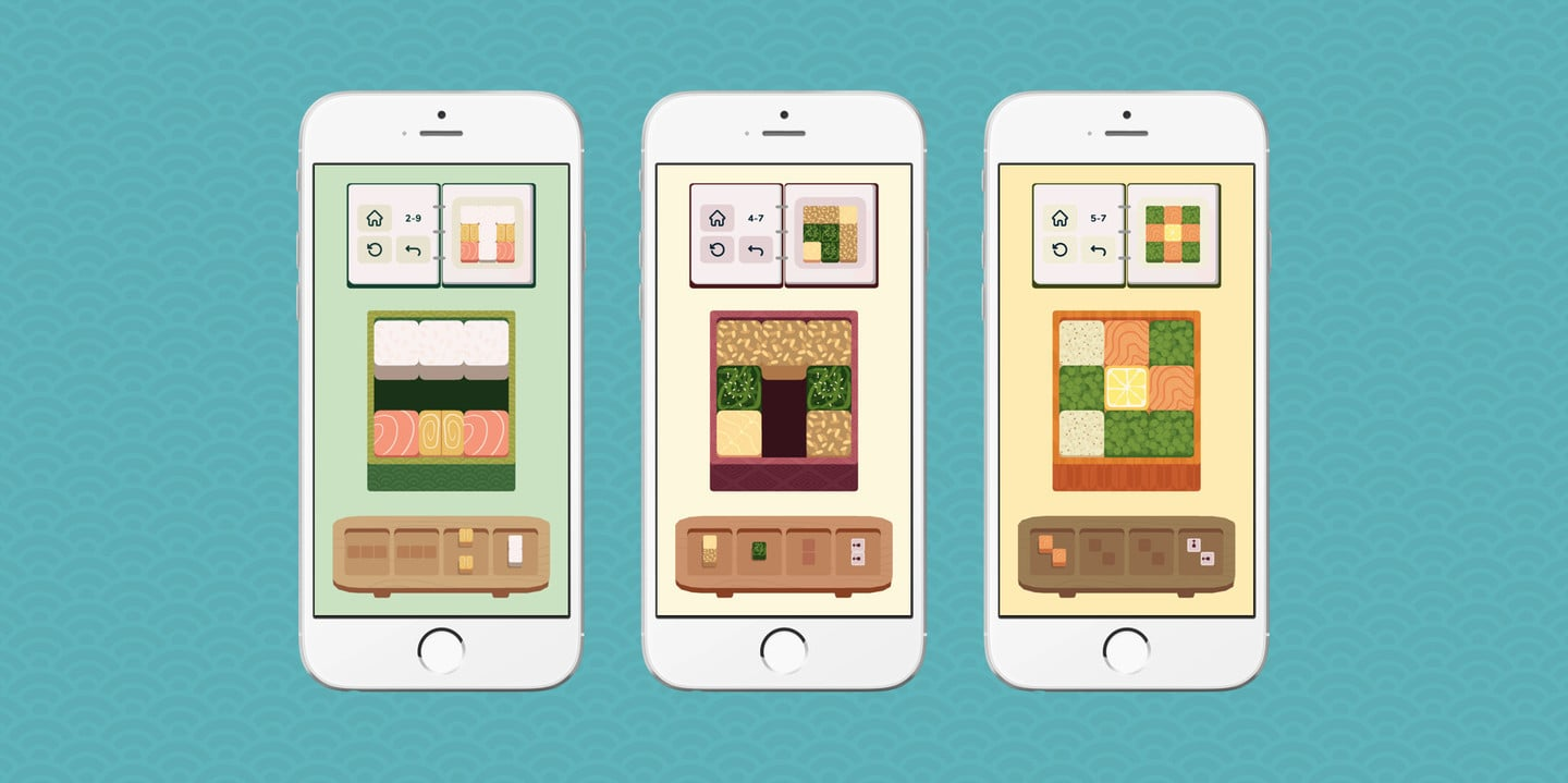 Stick to the Recipe in the Tasty Puzzler inbento