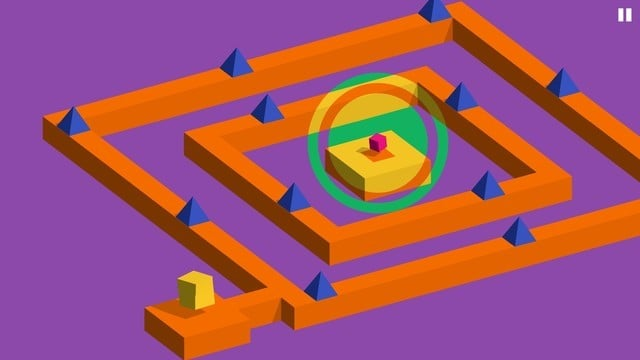 Vectronom Combines a Puzzler With Music and Geometry