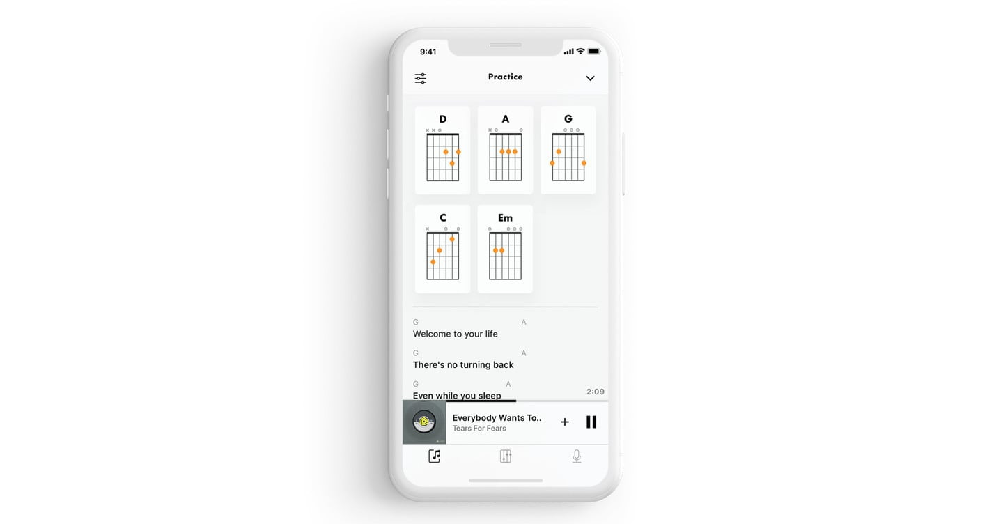 Play Along With Your Favorite Apple Music Tunes Using Fender Songs