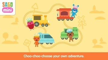 Sago Mini Trains Pulls Into the Station With Tons of Fun for Younger Children