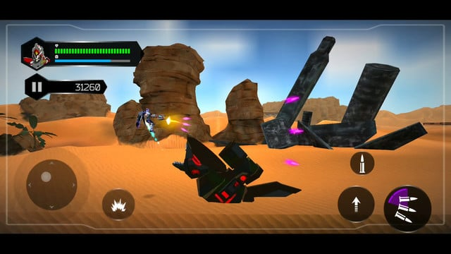 Run-and-Gun in the Fun New Side-Scrolling Adventure Star Titan
