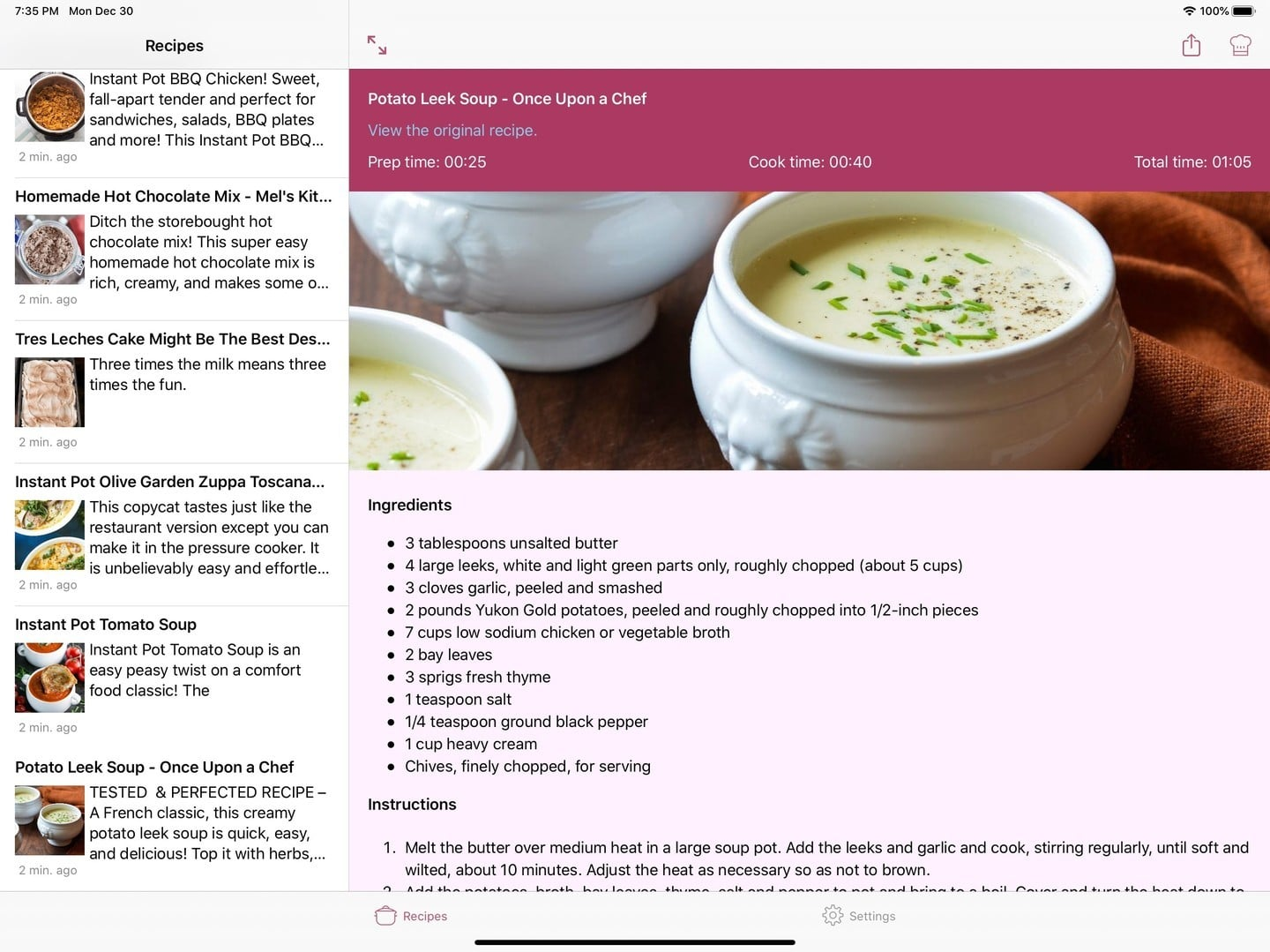 ClipDish Organizes and Simplifies Recipes You Find on the Web