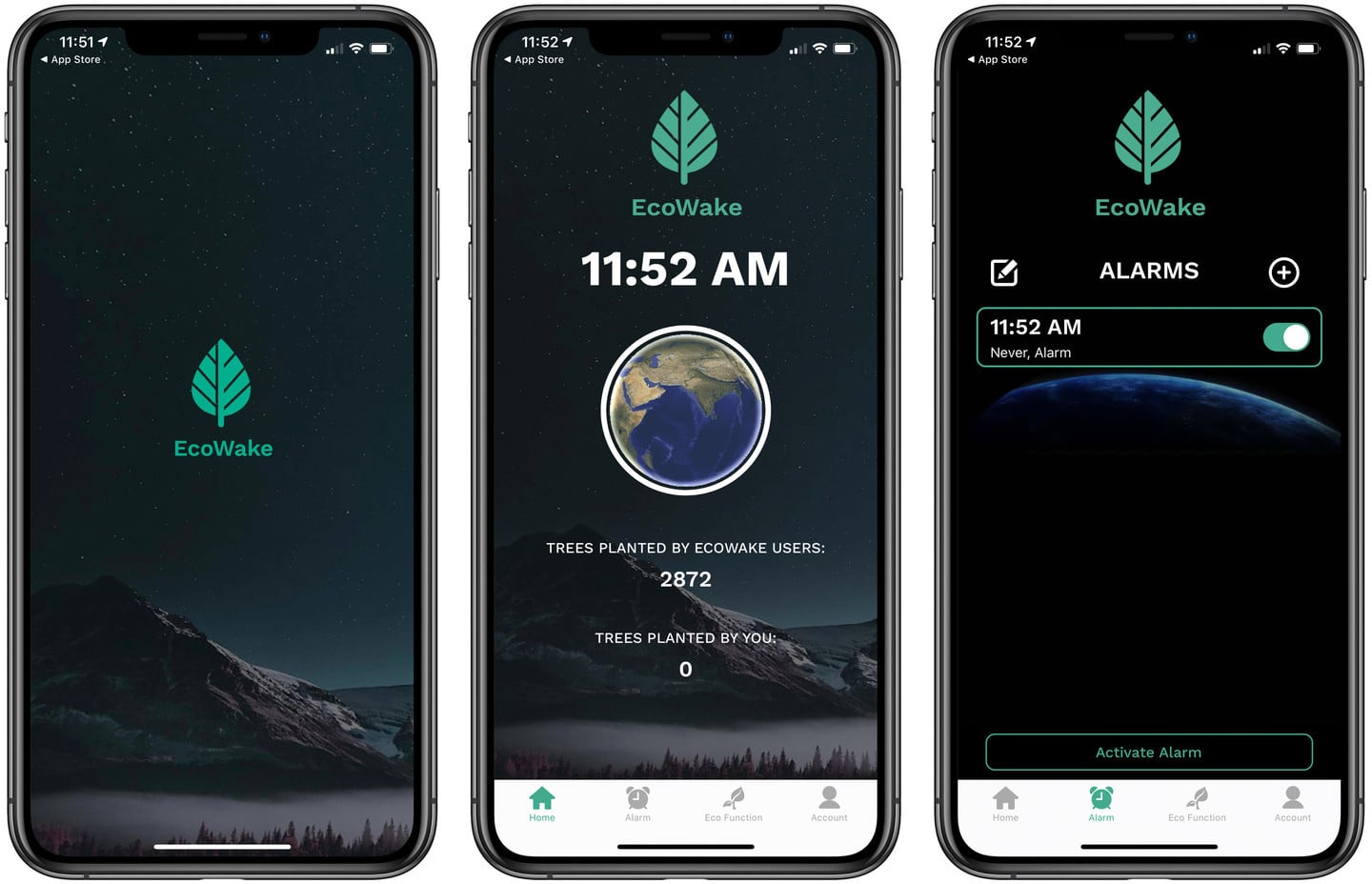 Waking Up on Time Takes on New Meaning Using the Alarm Clock App EcoWake