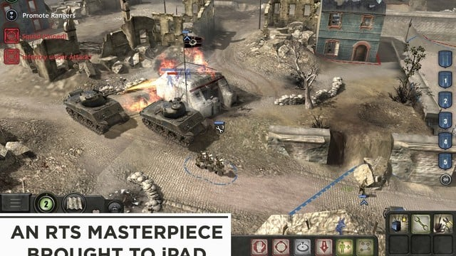 Iconic Real-Time Strategy Game Company of Heroes Arrives on iPad
