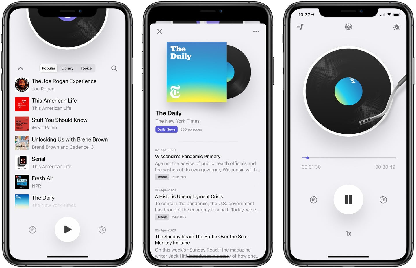 Podcast App Cosmicast Brings an Old-School Skeuomorphic Touch