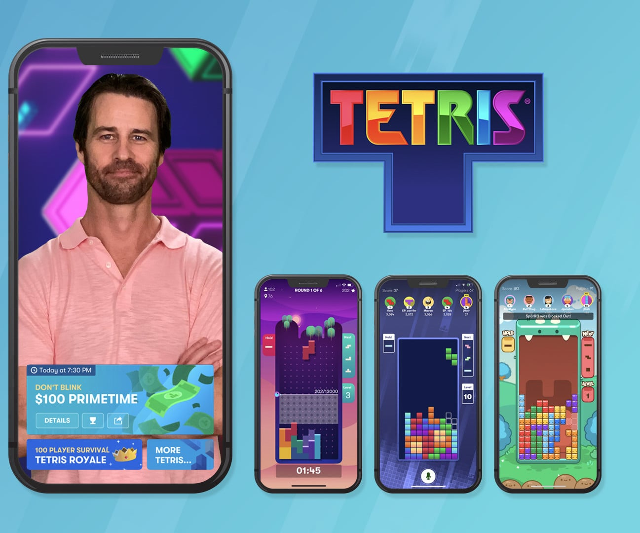 Tetris Adds New Daily Game Show Offering $1 Million in Annual Cash Prizes