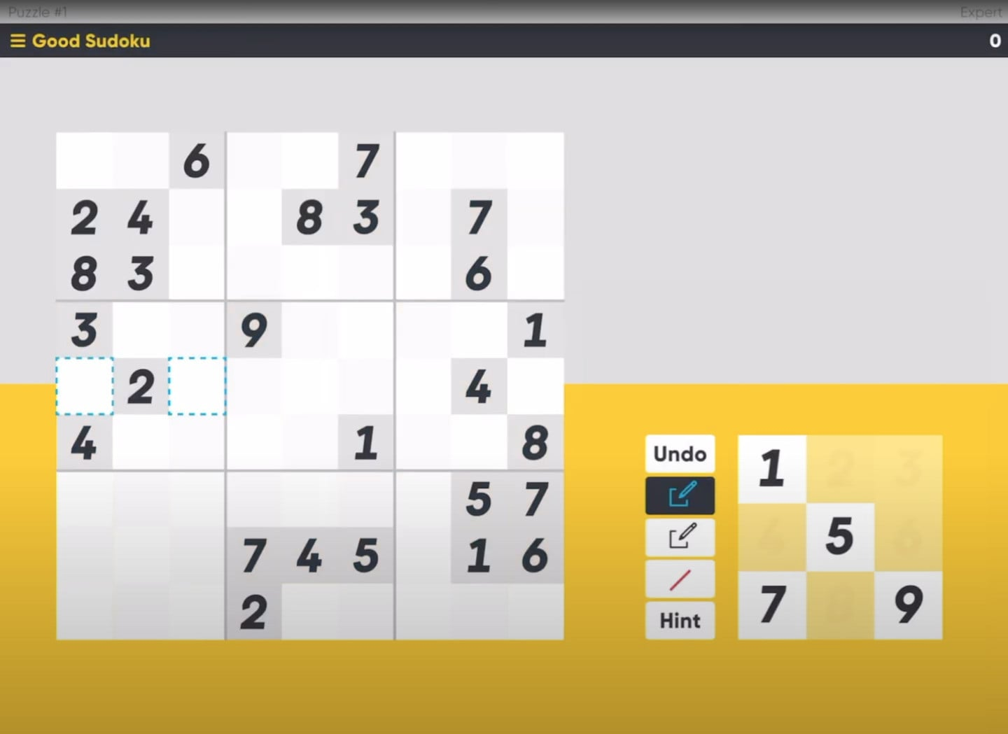 Good Sudoku by Zach Gage Looks to Remake the Classic Game