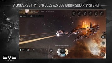 Explore More than 8,000 Star Systems in the New Space MMO EVE Echoes
