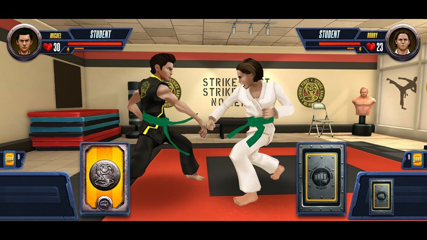 Jump Into the World of the TV Series in Cobra Kai: Card Fighter