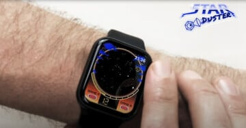 Head Back to the 80s With the Retro Apple Watch Game Star Duster