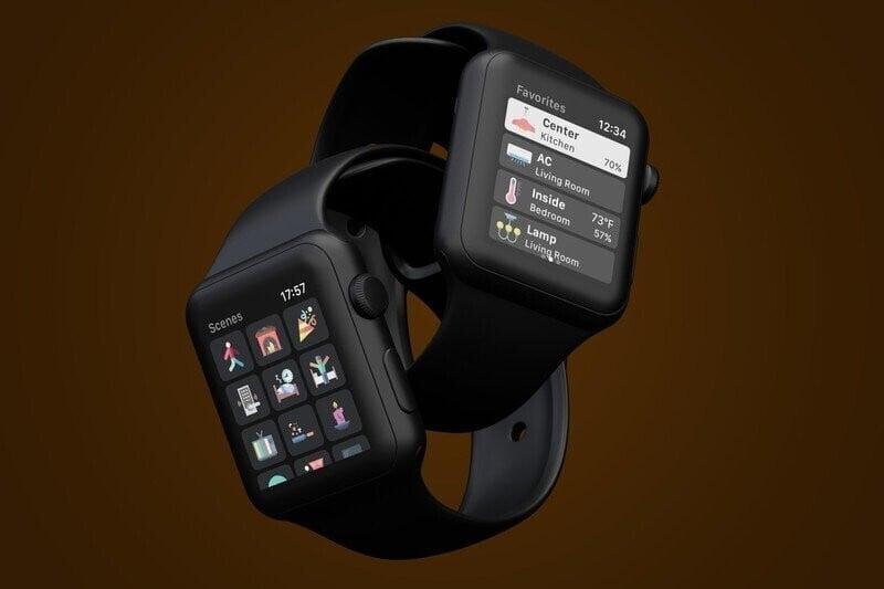 WristControl for HomeKit Brings Powerful Smart Home Control to Apple Watch