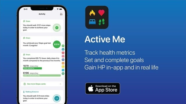 Use Active Me for Motivation to Stay Healthy