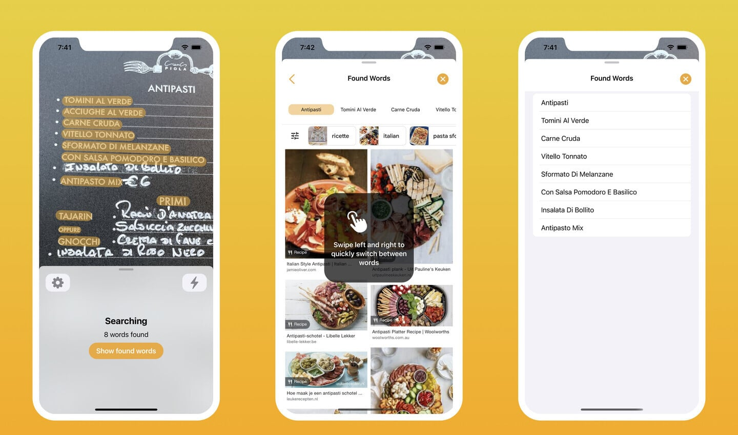Cibo Helps Make Ordering at a Restaurant Abroad Easy