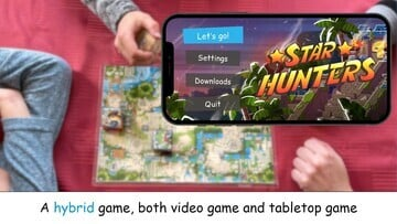 Star Hunters Blends a Board Game and Video Game