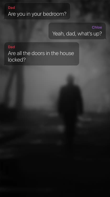 Spooky backgrounds with frightening texts