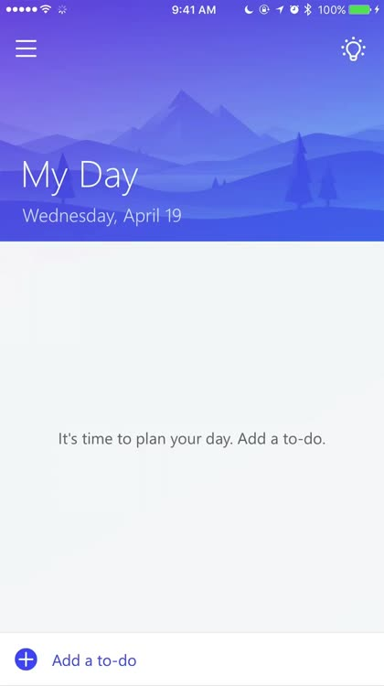 Easily add to-do list items
