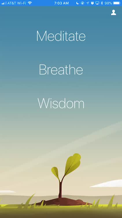 Calming your breathing