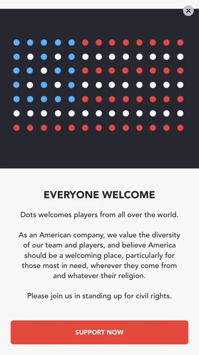 Dots & Co. donate to ACLU