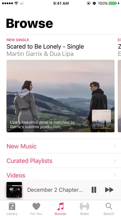 How to view Apple Music lyrics in Musixmatch's Today widget