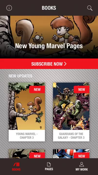 Marvelous pages