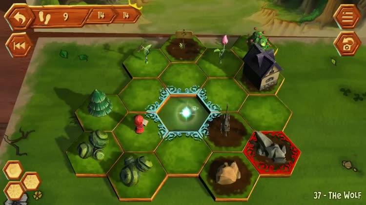 Enjoy sliding puzzle game