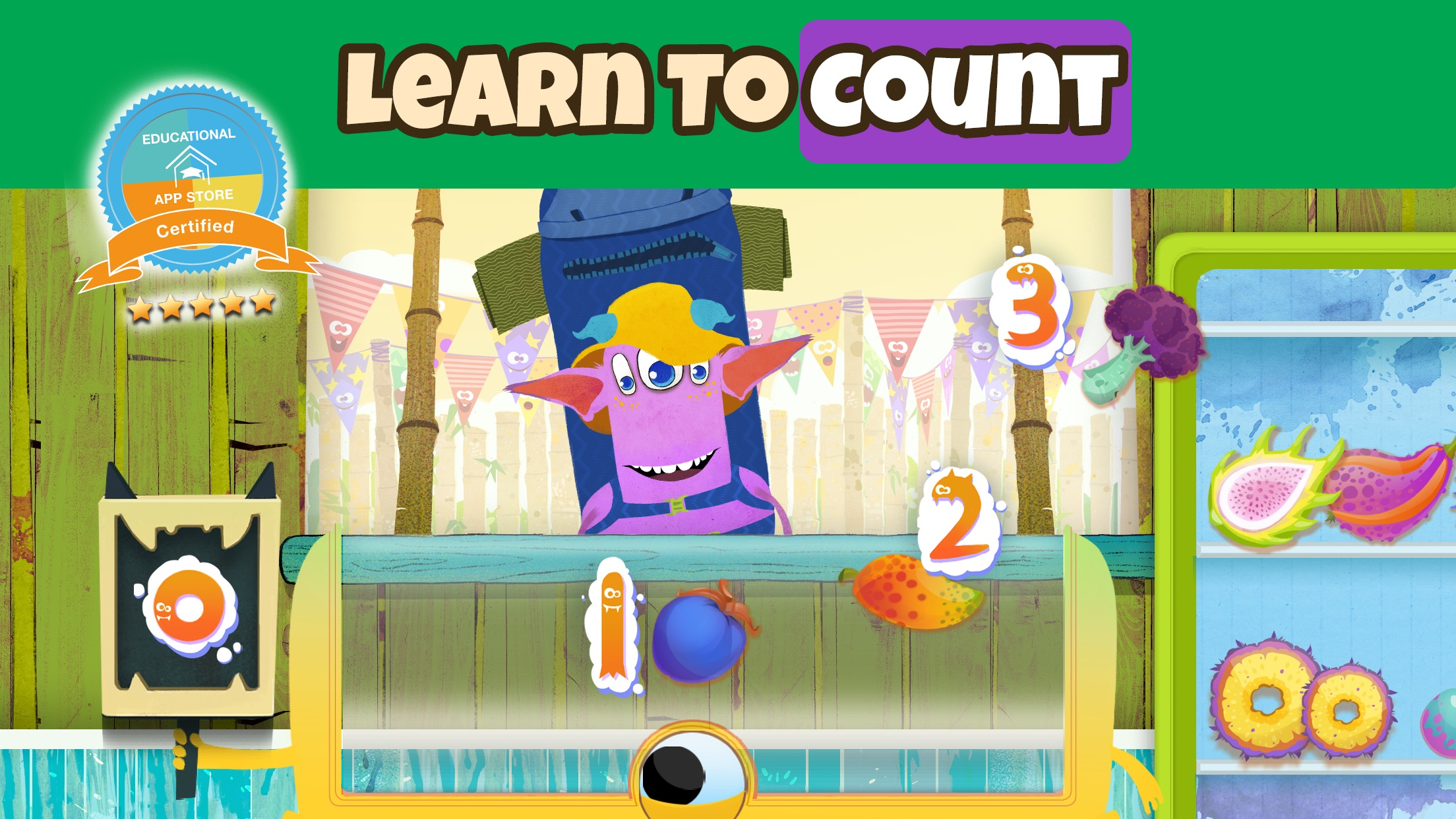 Help young children learn to count with Numberita