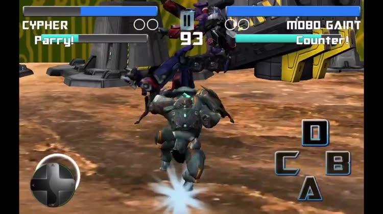 Futuristic Robot 3D Fighting