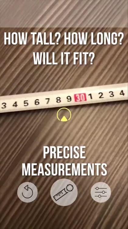 Ruler AR - Tape Measure by Aliaksandr Fedarashka