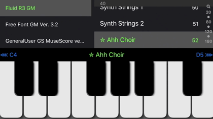 SoundFonts by B-Ray Software