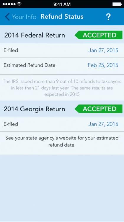 MyTaxRefund - Track your refund status