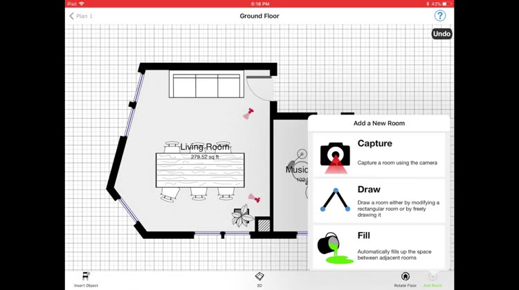 Amazing For those who want a floor plan creator with AR price list and work estimate options