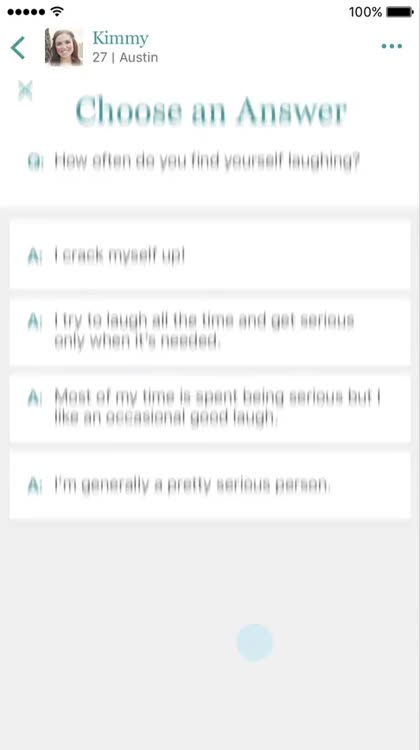 how to answer eharmony questions
