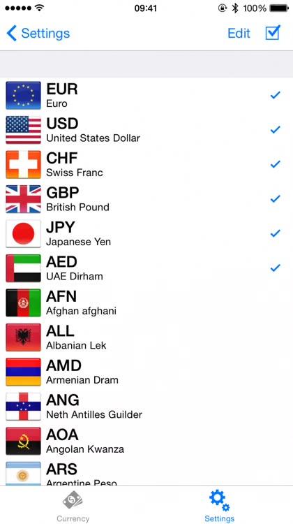 Exchange rate converter by Raphael Odermatt
