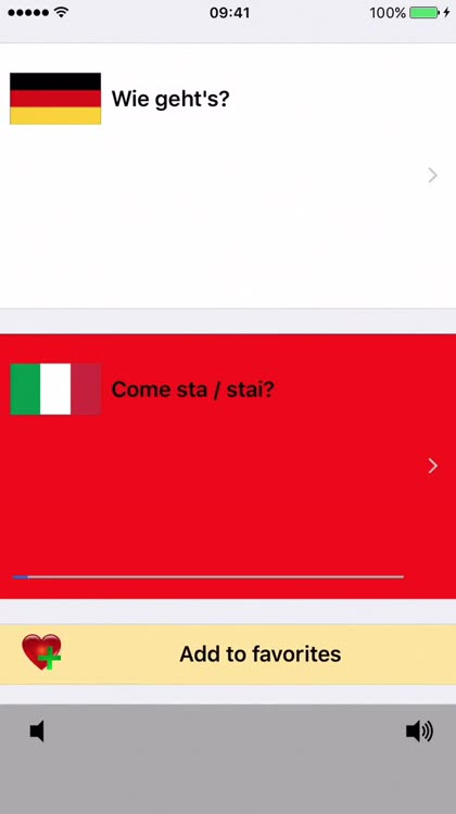 German / Italian Talking Phrasebook Translator Dictionary - Multiphrasebook