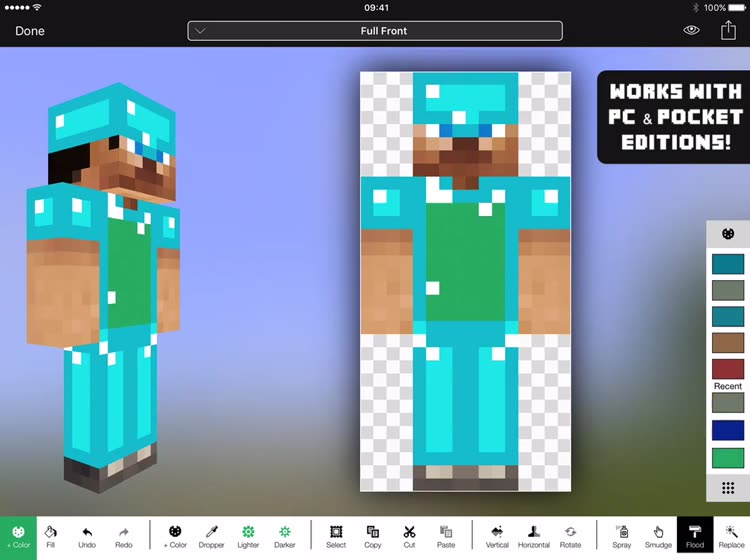 Minecraft Skin Studio By Digital Ltd - Minecraft skins download fur pc