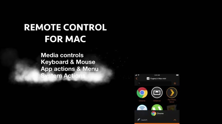Remote Mouse Keyboard Trackpad by Evgeny Cherpak