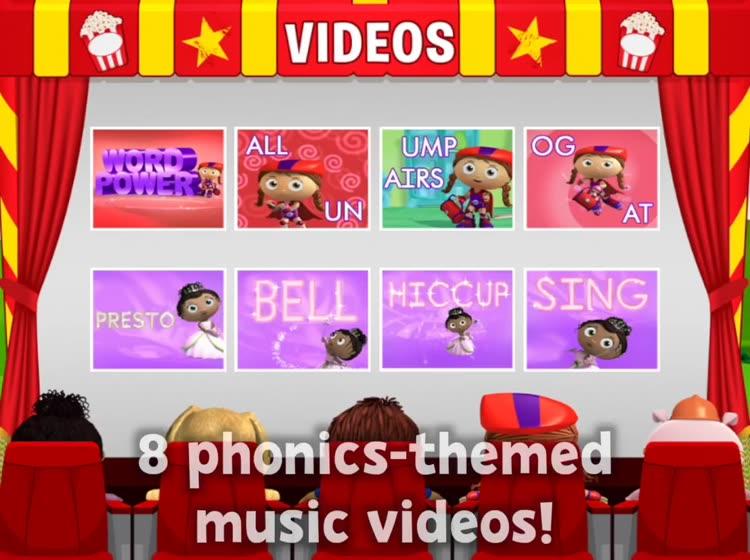 Super Why! Phonics Fair by PBS KIDS