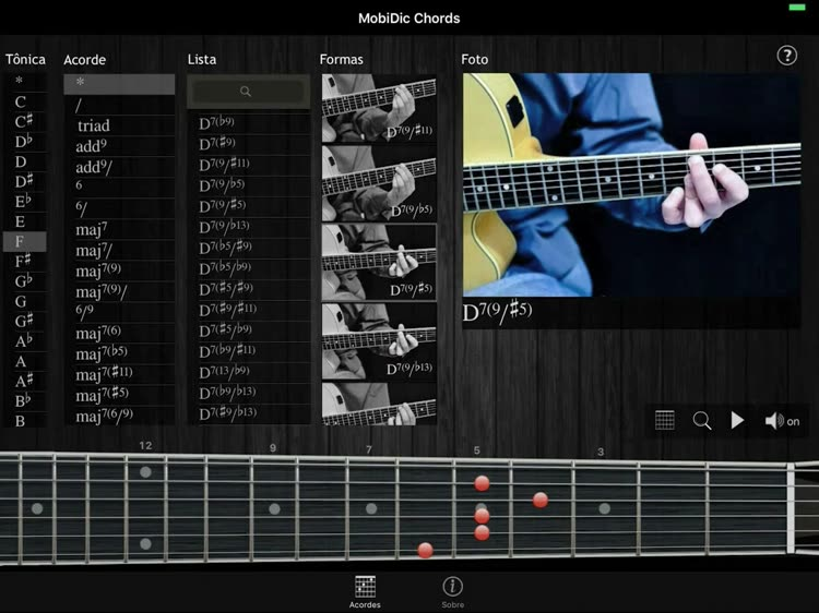 MobiDic - Guitar Chords by Authentic Software e Servicos TI EIRELI ME