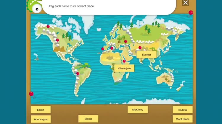 Kids world atlas by planet factory interactive wonder of our world and discover its beauty through a fun interactive app download kids world atlas to your ios device and bring the magic of planet gumiabroncs Images