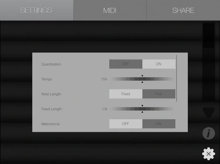 Fingertip MIDI HD - Virtual piano controller for PRO beat studio and music  production  by Fingertip Music Technology Inc