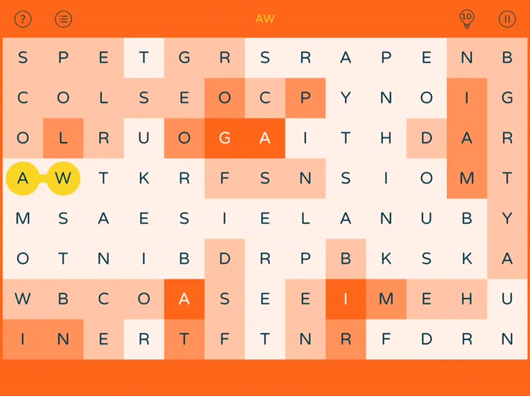 Spell Color : Unscramble Words by Fresh Logo SRL
