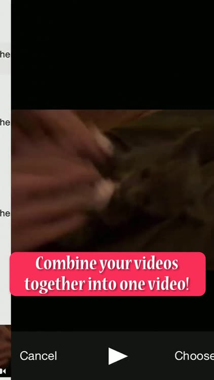 Combine Vid - Merge Video Clips Together into One Movie Collage for Vine  and Instagram