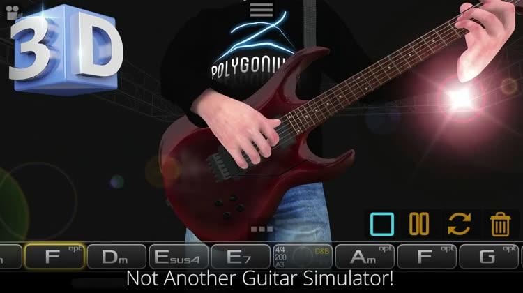 Guitar 3D - Chords, Strums App by Polygonium