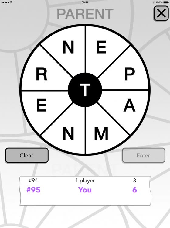 Word Wheel by POWGI by Puzzle On Word Games Inc
