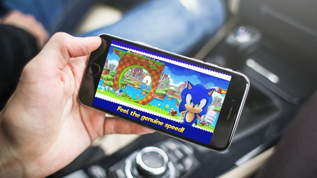 You Have to Go Fast in Sonic Runners Adventure
