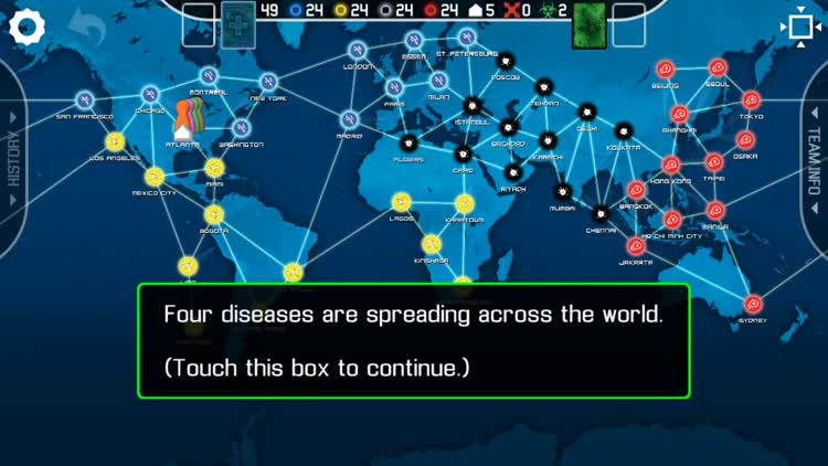 Pandemic introduction